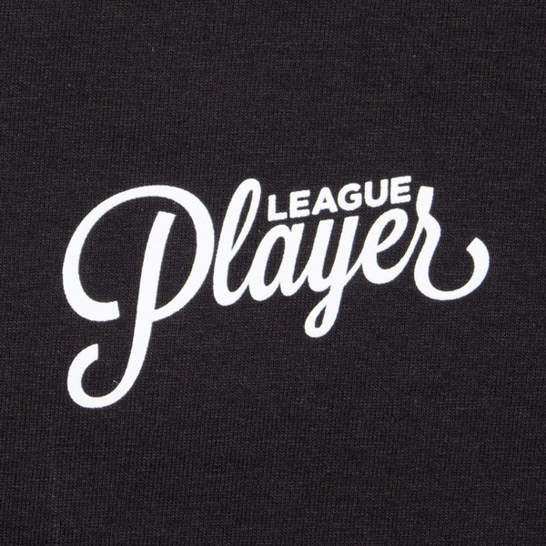 LEAGUE PLAYER TEE BLACK