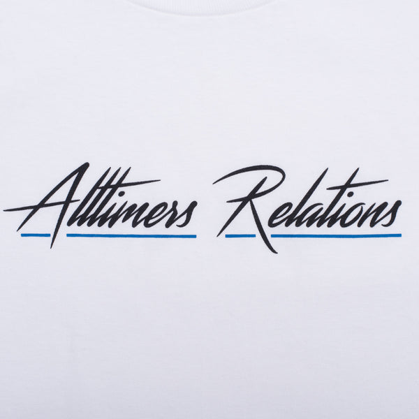 RELATIONS TEE WHITE