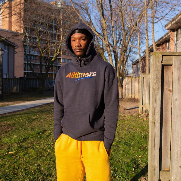 BIG FADER HOODY NAVY