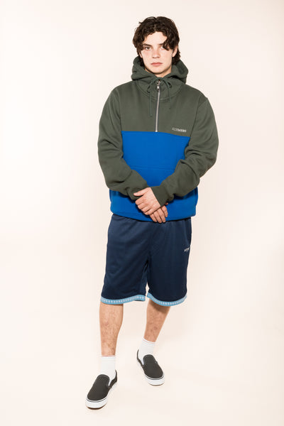 J-WAVES SHORTS NAVY