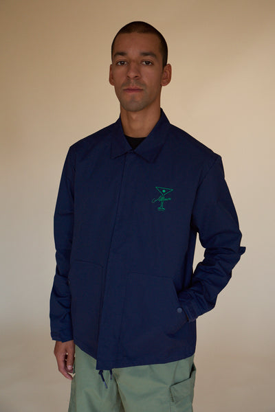 FINESSE COACHES JACKET NAVY