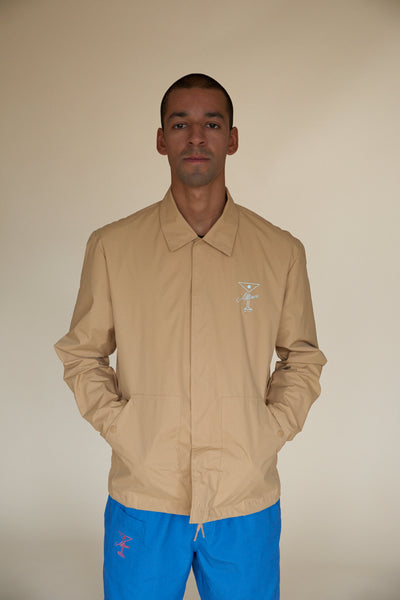 FINESSE COACHES JACKET TAN