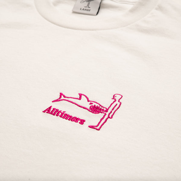 SHARK DICK TEE WHITE