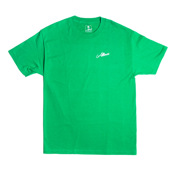 KETCHUP GUY TEE GREEN