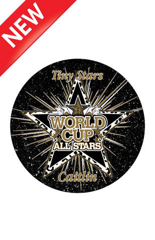 NEW* CAR MAGNET-WORLD CUP