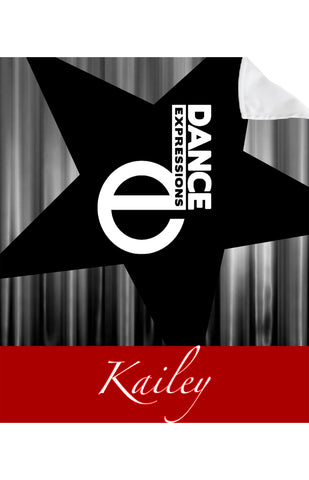 Dance Expressions BLANKET-Large Star