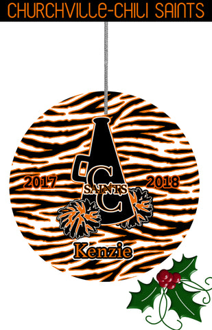ORNAMENT-CC Zebra