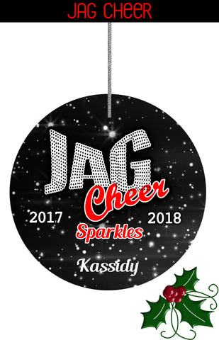 ORNAMENT-Jag Cheer