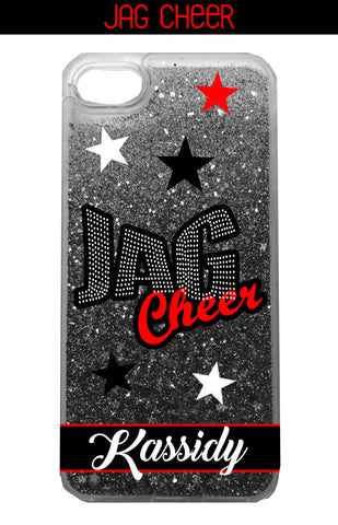 CASE-Jag Cheer Liquid Glitter Stars