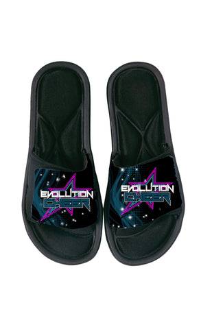 SANDAL SLIDES-EVOLUTION CHEER