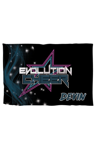 TRAVEL PILLOWCASE-EVOLUTION CHEER
