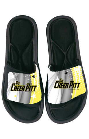 The Cheer Pitt SANDAL SLIDES (yellow)