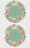 Floral Car Coasters