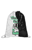 Reversible Sequins Drawstring Bag-Tehachapi