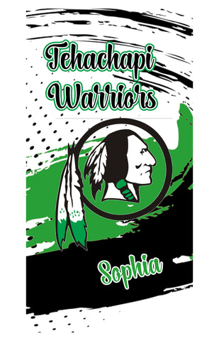 BEACH/BATH/POOL TOWEL-Tehachapi Warriors