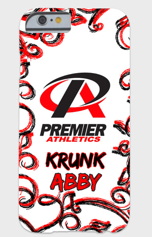 Premier Athletic Red Swirl