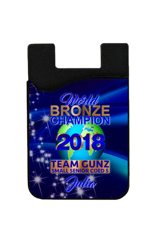 CJA BRONZE CHAMPION POUCH