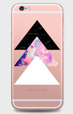 Triple Triangle Clear Case