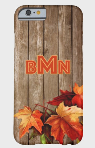 Fall Leaves Monogram  Designs