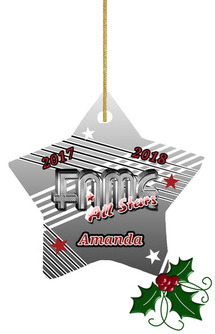 FAME STAR ORNAMENT