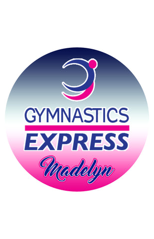 Gymnastic Express CAR MAGNET
