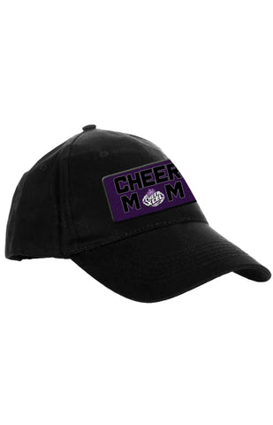 CX BLACK PATCH CHEER MOM HAT