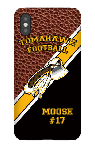 CELL CASE-Tomahawk Football