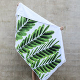 Beach Towel - Albizia Leaf