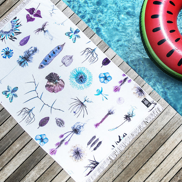 Beach Towel - Natural Curiosities (psycho)