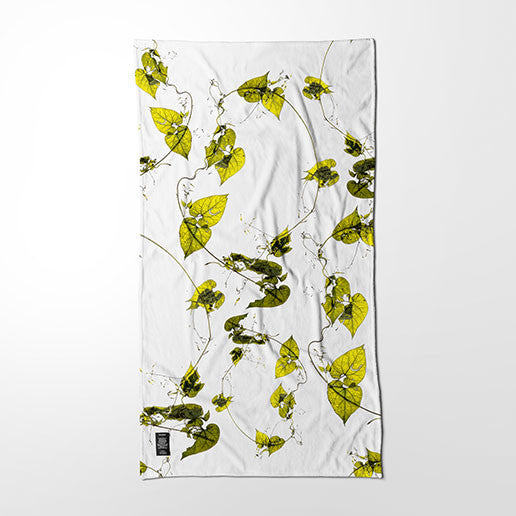 Bath Towel - Herbarium