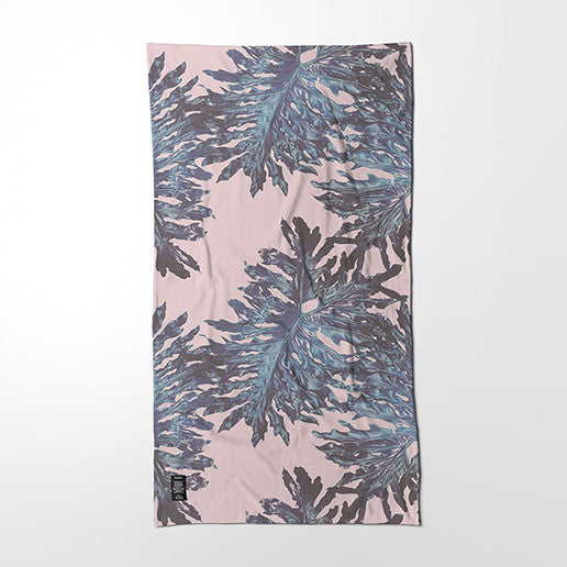 Bath Towel - Split-leaf Philodendron