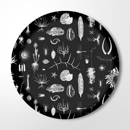 Serving Tray - Natural Curiosities (black)