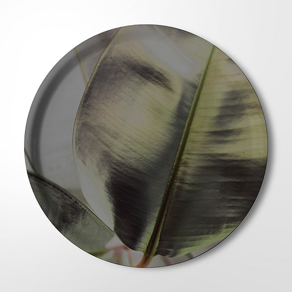 Serving Tray - Ficus Foliage