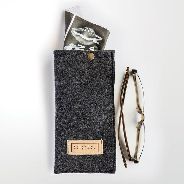 Spectacle Case - Natural Curiosities (black)