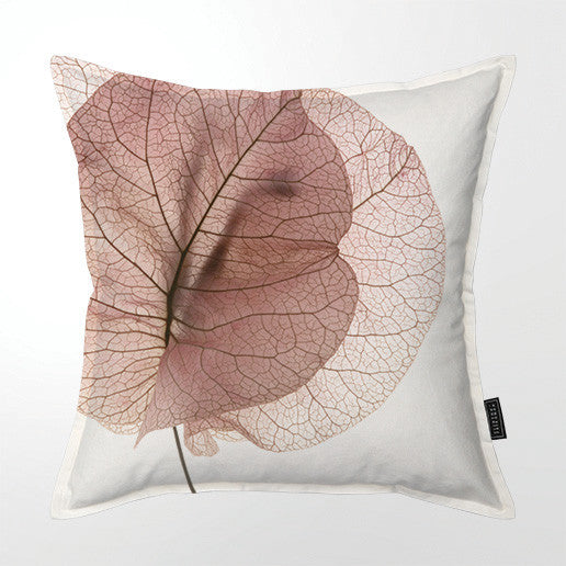 Scatter Cushion (Single sided print) - Autum Bougainvillea