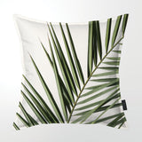 Scatter Cushion (Single sided print) - Coastal Palm Frond 01
