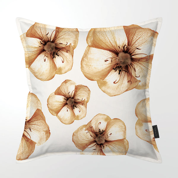 Scatter Cushion (Single sided print) - Copper Blooms