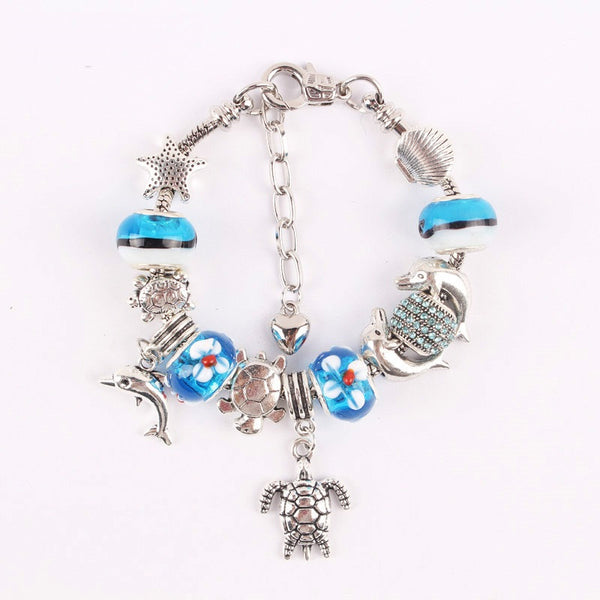 Fashion Jewelry Turtle/Starfish/Dolphin Bracelet