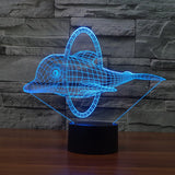 3D Dolphin Lamp - 7 COLORS CHANGEABLE