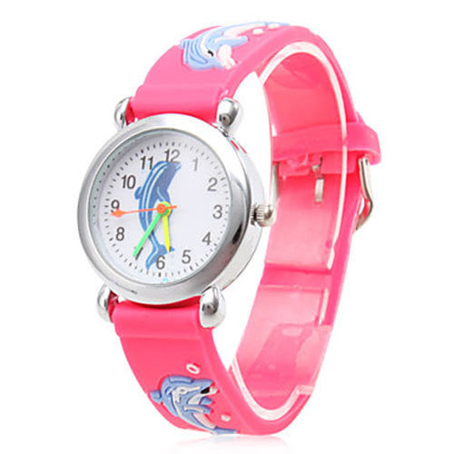 Quartz Analog Fashion Cartoon Dolphin Watch