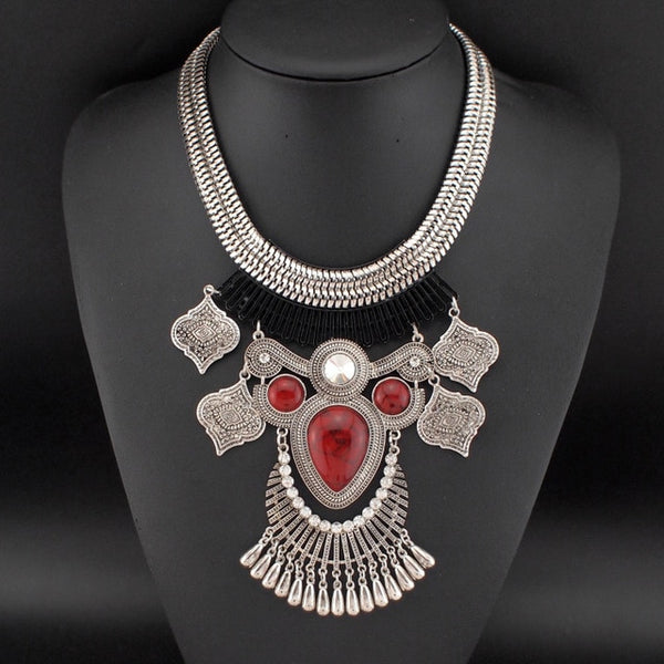 New Design Vintage Resins Chokers Maxi Owl Necklace -  Statement Necklaces & Pendant Jewelry