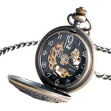 Vintage Antique Bronze Hand Wind Pocket Watch - Absolutely Gorgous