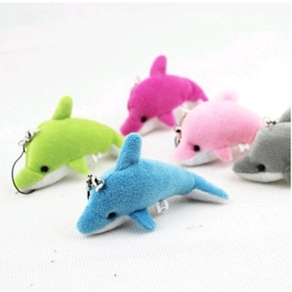 Dolphins Plush Toy - For Phone/Throw Gifts (available all colours)