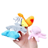 Popular Sea Animal Finger Puppet - Educational Hand Toys - 10pieces