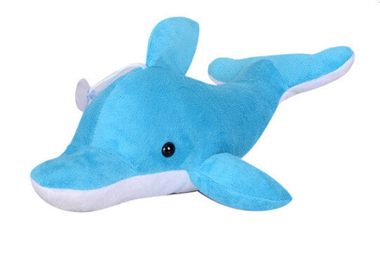 Blue Dolphin Plush Toy 30cm - Can Be Used As A Pillow !!