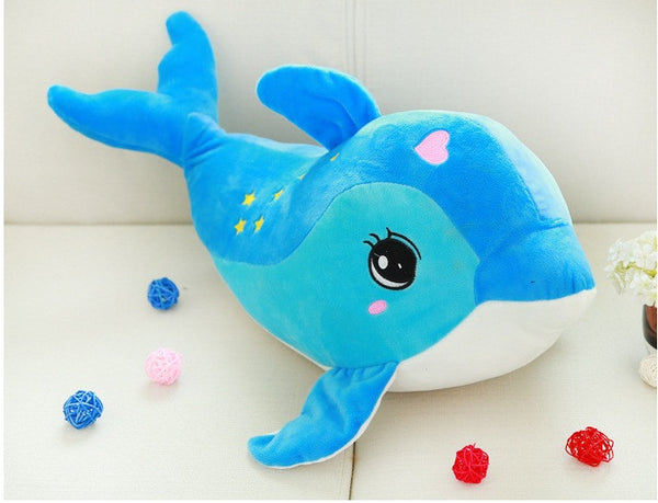 Seven Stars Dolphins Plush Toys (available in Pink & Blue)