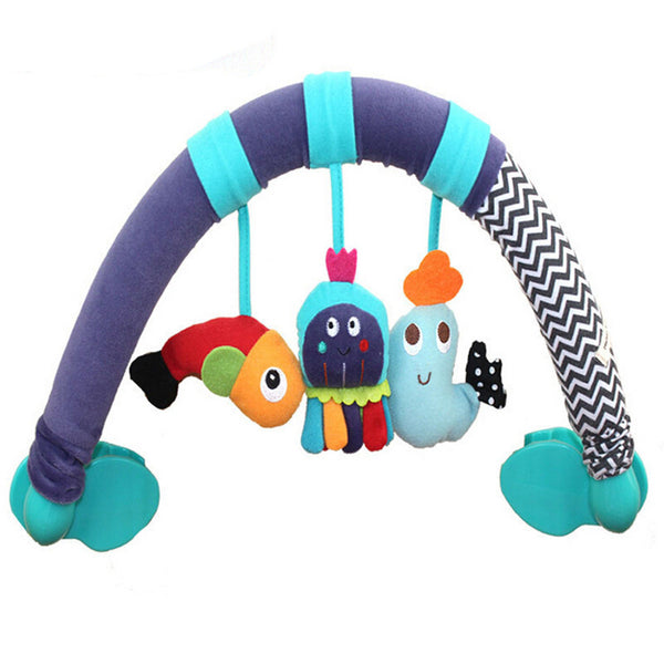 Fish/Octopus/Dolphin Plush Toy For Mobile Learning & Education