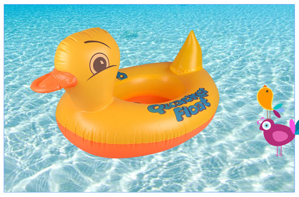 Inflatable Dolphin/Swan/Elephant/Frog/Duck Swim Rings For Pool or Beach