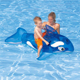 Blue Inflatable Dolphin - Ride On Water Now !!!