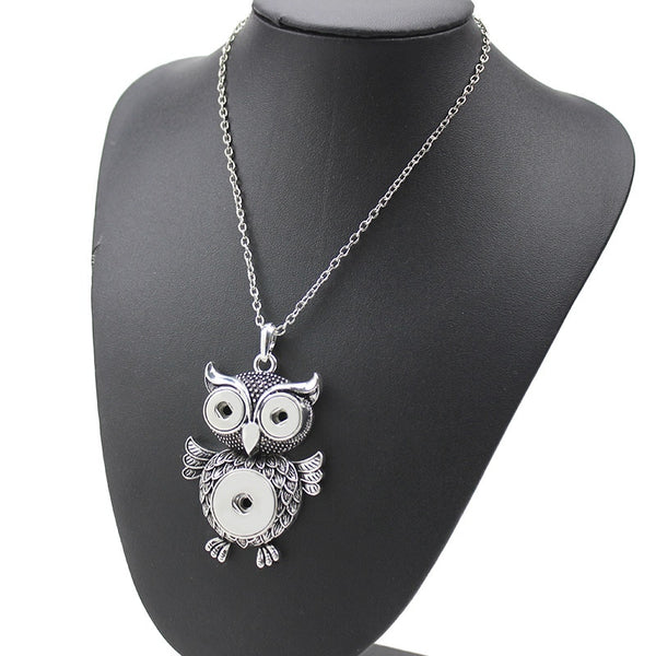 New Fashion Owl Pendant Necklace - Retro Charms Necklaces (Many Designs Available)
